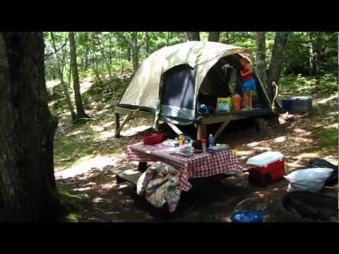 Camping At Sagadahoc Bay