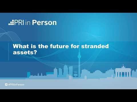 PRI in Person 2017 - What is the future for stranded assets?