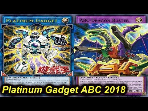 【YGOPRO】ABC PLATINUM GADGET DECK 2018