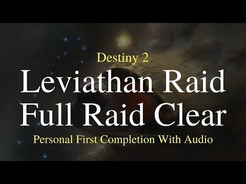 Destiny 2 - Leviathan Raid | Full Raid Clear (Personal First Completion)