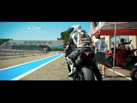 """Panasonic GH4 Film Look """"A DAY ON A TRACK"""" (Motorbike)"""