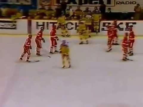 1983-11-12 Sweden Soviet Hockey Exhibition