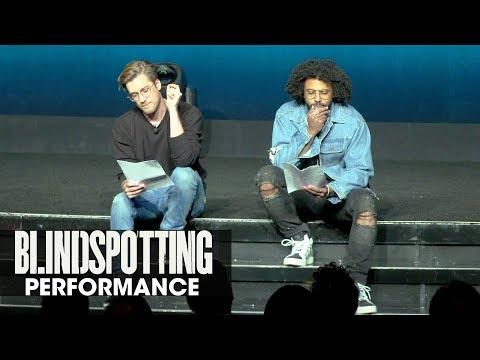 Blindspotting powerful spoken-word performance - Daveed Diggs, Rafael Casal - CinemaCon 2018