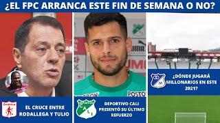 ¿Tulio Gómez ARREGLÓ con Rodallega? 😱 | ¡ÚLTIMAS novedades del Deportivo Cali antes de su debut! 👈