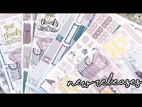 New Releases | Thankful & $5 Micro Kits