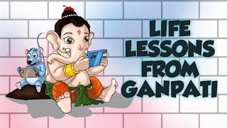 Life Lessons from Ganpati Bappa - Hindi Animated Motivational Video #63