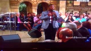 Profeta Brian Carn - en Ministerio Benny Hinn - Prosperidad Profetica