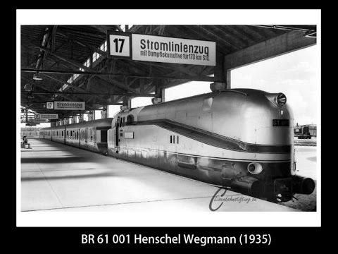 TRIX 21245 HO BR 61 001 Henschel Wegmann DRG (1935)