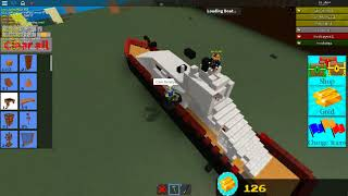 Zeige mein USS-Boot in Build a Boat For Treasure in Roblox