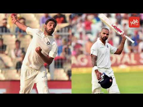 Dhawan and Bhuvaneswar Left Sri Lanka Test Matches | YOYO Times