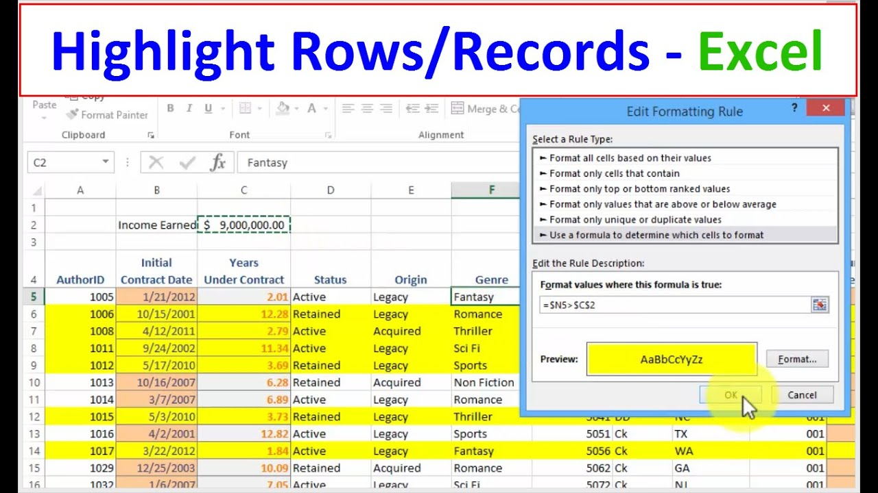 how to add an extra row in excel