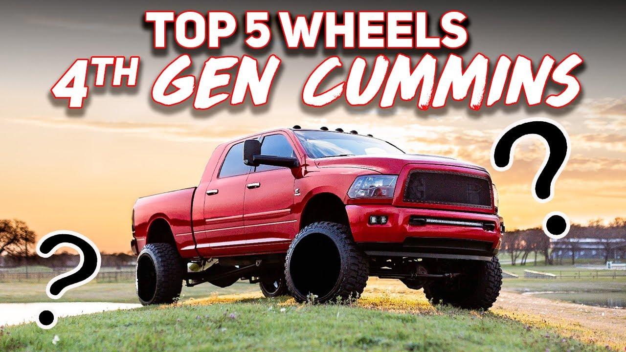 TOP 5 WHEELS For The Fourth Gen Cummins!