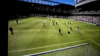 Gols do Sevilha (fifa soccer 2009) Playstation 3