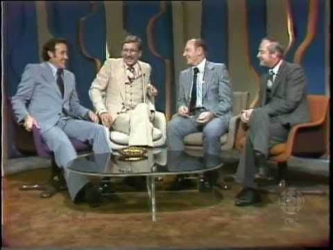Jacques Plante, Johnny Bower & Glenn Hall, 1977: CBC Archives