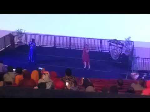 Alda & Inayah GalaPremier Film Dongeng Musical Keongemas TMII