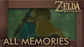 Zelda Breath of the Wild - All Memories (Zelda & Link Cutscenes) Full Past Story