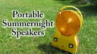 Homemade Portable Lantern Speakers