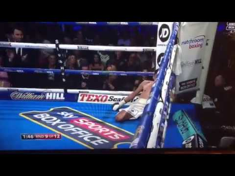 Scott Quigg v Jose Cayetano Big Knockout Boxing Fight Night 10.12.2016 Anthony Joshua Fight Night