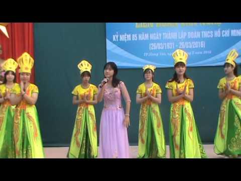 Đất nước lời ru - Chi đoàn 10D4 - THPT Hưng Yên 26.03.2016