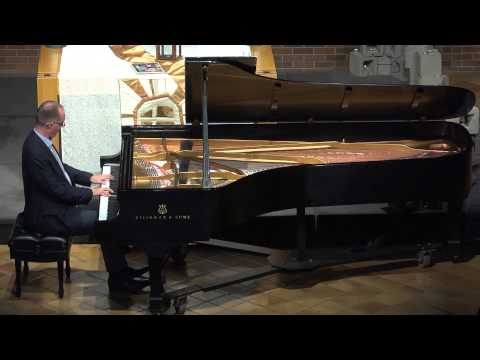 Milton Schlosser, Piano, performs Robert Schumann's Kinderszenen/Scenes from Childhood, Opus 15.