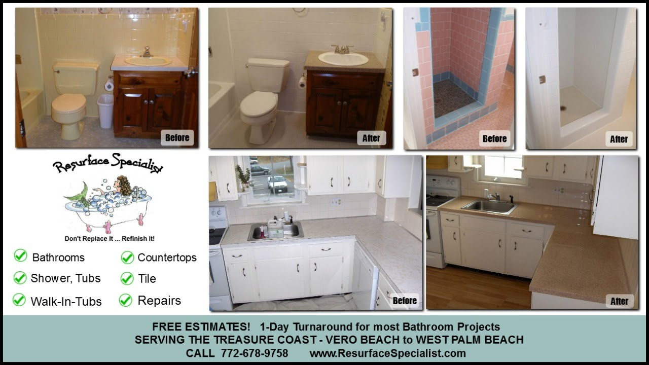 Bathtub Refinishing   Palm City FL