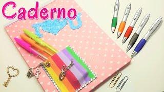 Caderno personalizado – Artesanato Viviane Magalhães