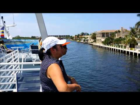 Vacation in Florida - July 2014 - Helicopter & Yacht Tour of Delray Beach and Boca Raton