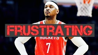 The Promising and FRUSTRATING Career of Carmelo Anthony