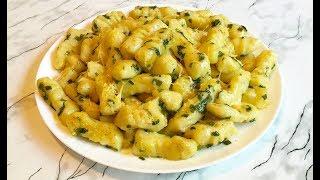 Картофельные Ньокки (Клецки) / Gnocchi / Простой Рецепт(Очень Вкусно)
