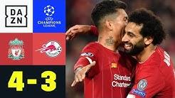 Starkes Comeback reicht Salzburg nicht: Liverpool - Salzburg 4:3   UEFA Champions League   DAZN