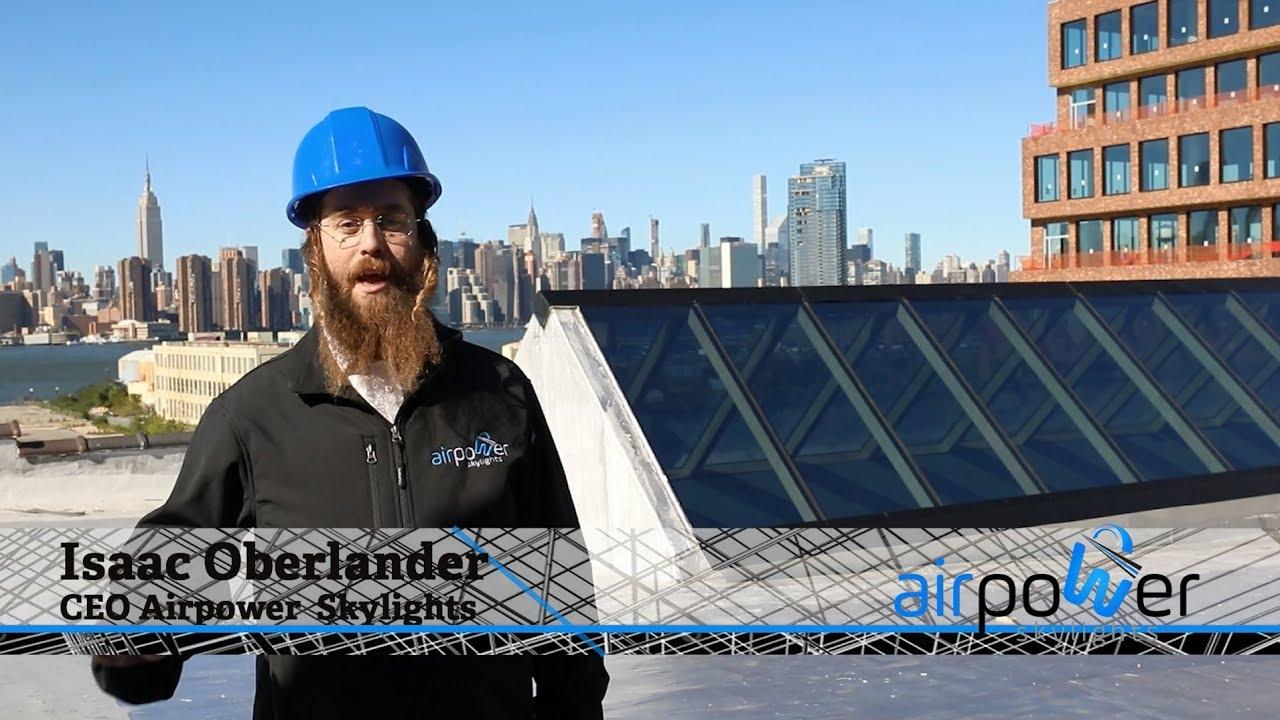 Meet Isaac Oberlander CEO of Air Power Skylights at Interstate Expo