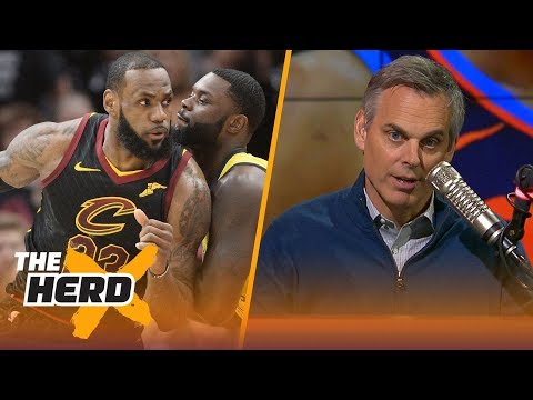 Colin on LeBron's Game 7 against Indy, OKC being bounced from the 2018 Playoffs | NBA | THE HERD