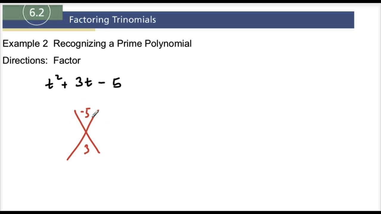 how to know if something is polynomial
