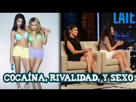 Selena Gomez, Vanessa Hudgens:Cocaina, Rivalidad y Sexo
