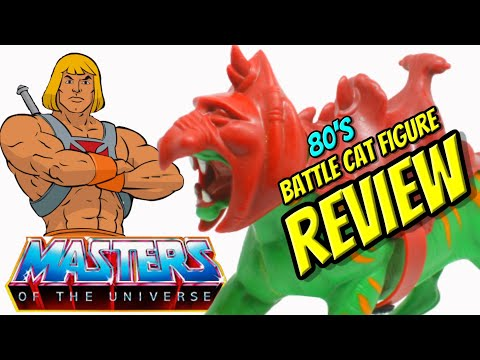 (motu)-masters-of-the-universe's-battle-cat-review-#toys-#motu