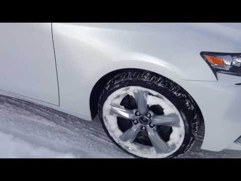 2014 Lexus IS 350 AWD Executive Package Review in White Edmonton
