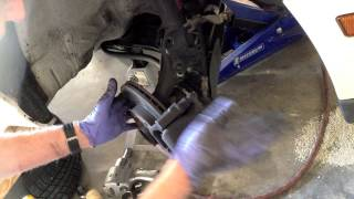 VW CV axle removal without disturbing the ball joint