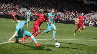 FIFA 15 Gameplay (PS4/Xbox One) - Liverpool vs Manchester City Full Match