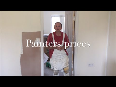 Painting & Decorating,Painters Prices, part 2 - YouTube
