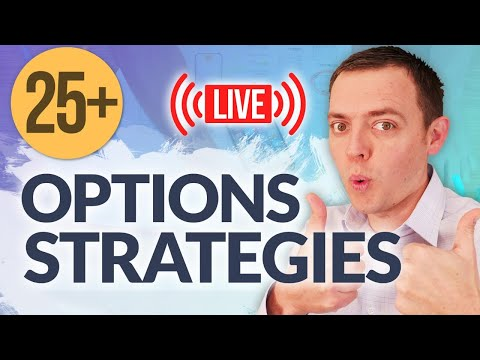25+ Different Options Trading Strategies & How to Set Them Up