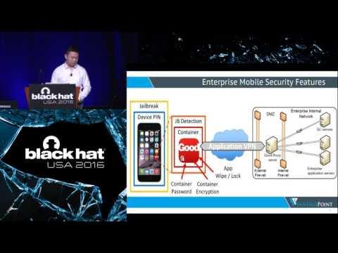 Bad for Enterprise: Attacking BYOD Enterprise Mobile Security Solutions