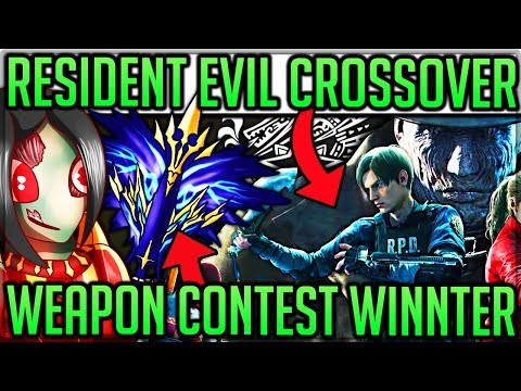 Iceborne Resident Evil Crossover Event + Weapon Contest Winn