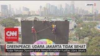 Greenpeace: Udara Jakarta Tidak Sehat