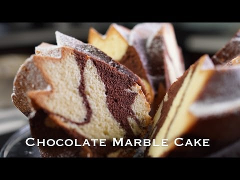 Chocolate Marble Cake - Bruno Albouze - THE REAL DEAL