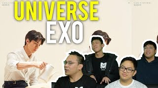 "EXO are the kings of the ""UNIVERSE"" (MV Reaction)"