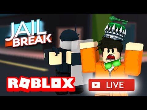 😃 ROBLOX JAILBREAK LIVE STREAM! 😃   NEW JAILBREAK UPDATE!!   ROBLOX Live🔴