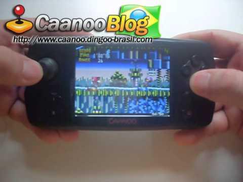 Caanoo Sega 32X emulation Knuckles