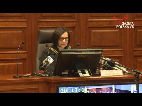 Sędziowie kontra Gazeta Polska - ogłoszenie wyroku