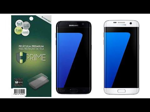 Película Premium HPrime Samsung Galaxy S7 Edge - Blindada PLUS (Cobre a parte curva da tela)