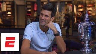 2018 US Open interview: Novak Djokovic after defeating Juan Martin del Potro in men's final| ESPN